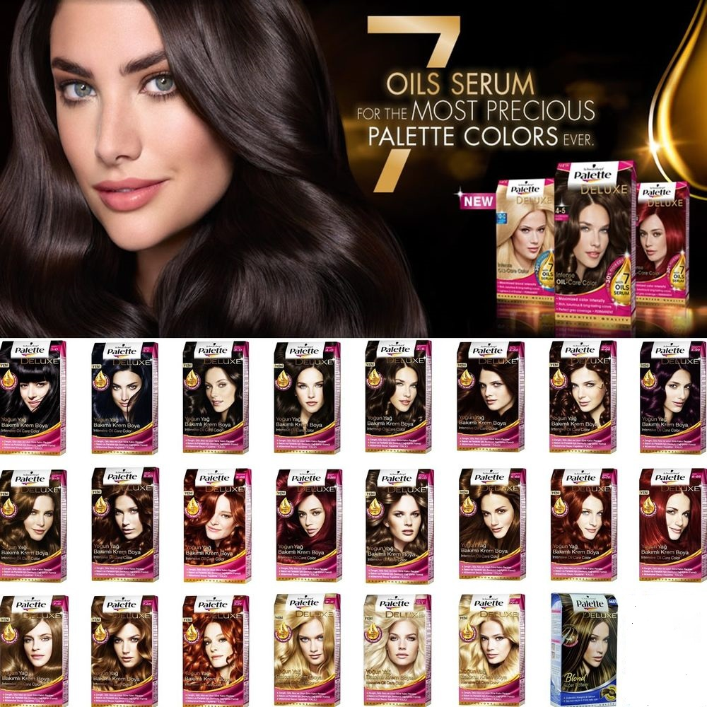 Qoo10 every need every want every day schwarzkopf palette deluxe hair dye 7 oils serumperfect mousse permanent foam colorhair treatment geenschuldenfo Choice Image
