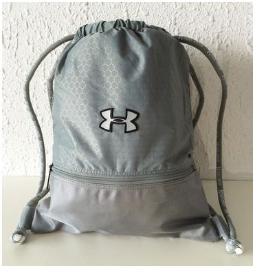 e18c74394adb Navy blue Under Armour drawstring bag. OFF36% The Largest Catalog Discounts""
