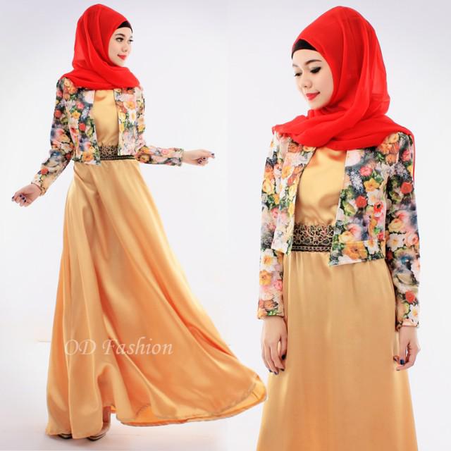 Gamis Kaftan Maxi Muslim Fashion Best Seller Baju