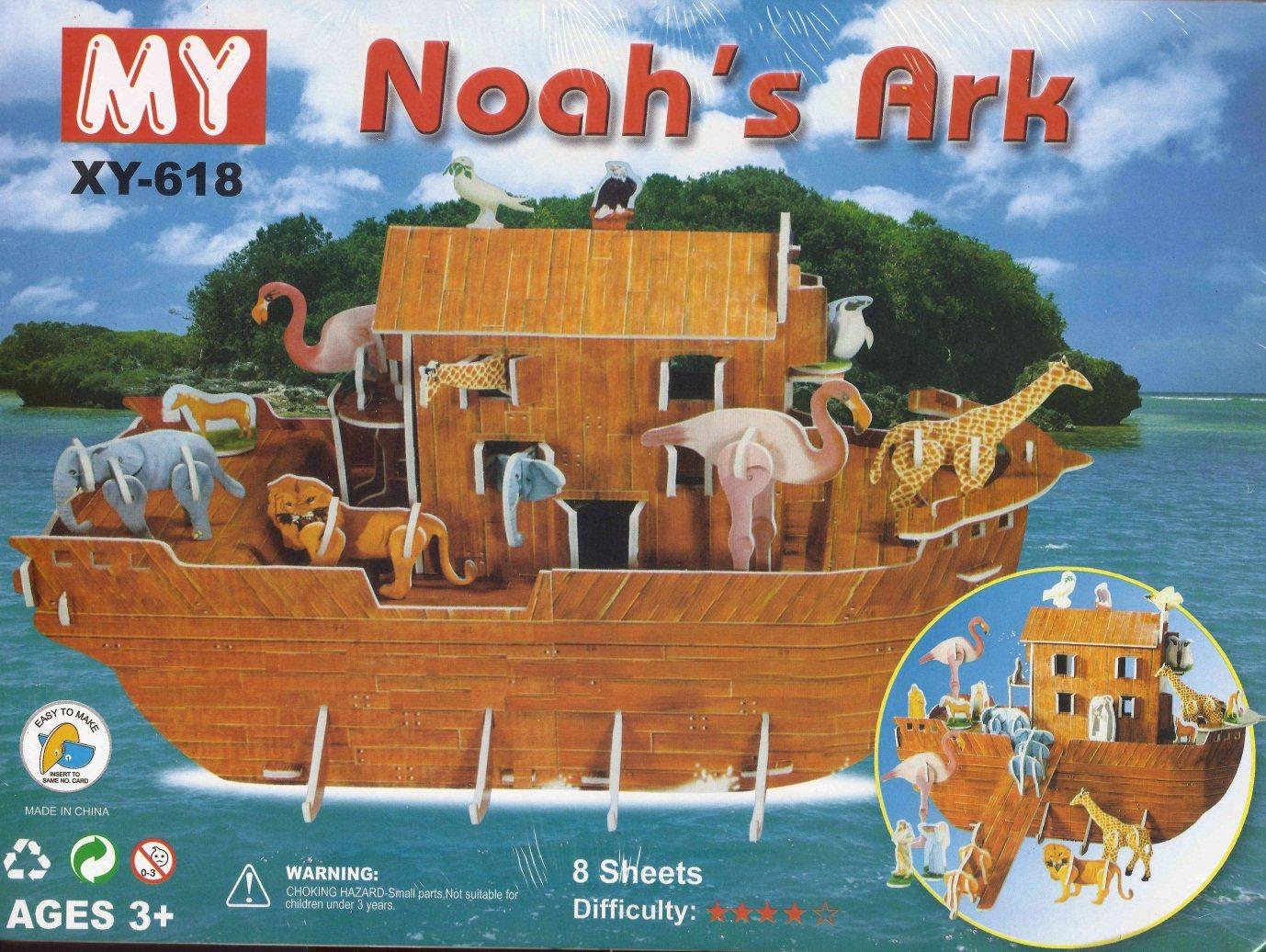 3d puzzles noah u0027s ark xy618