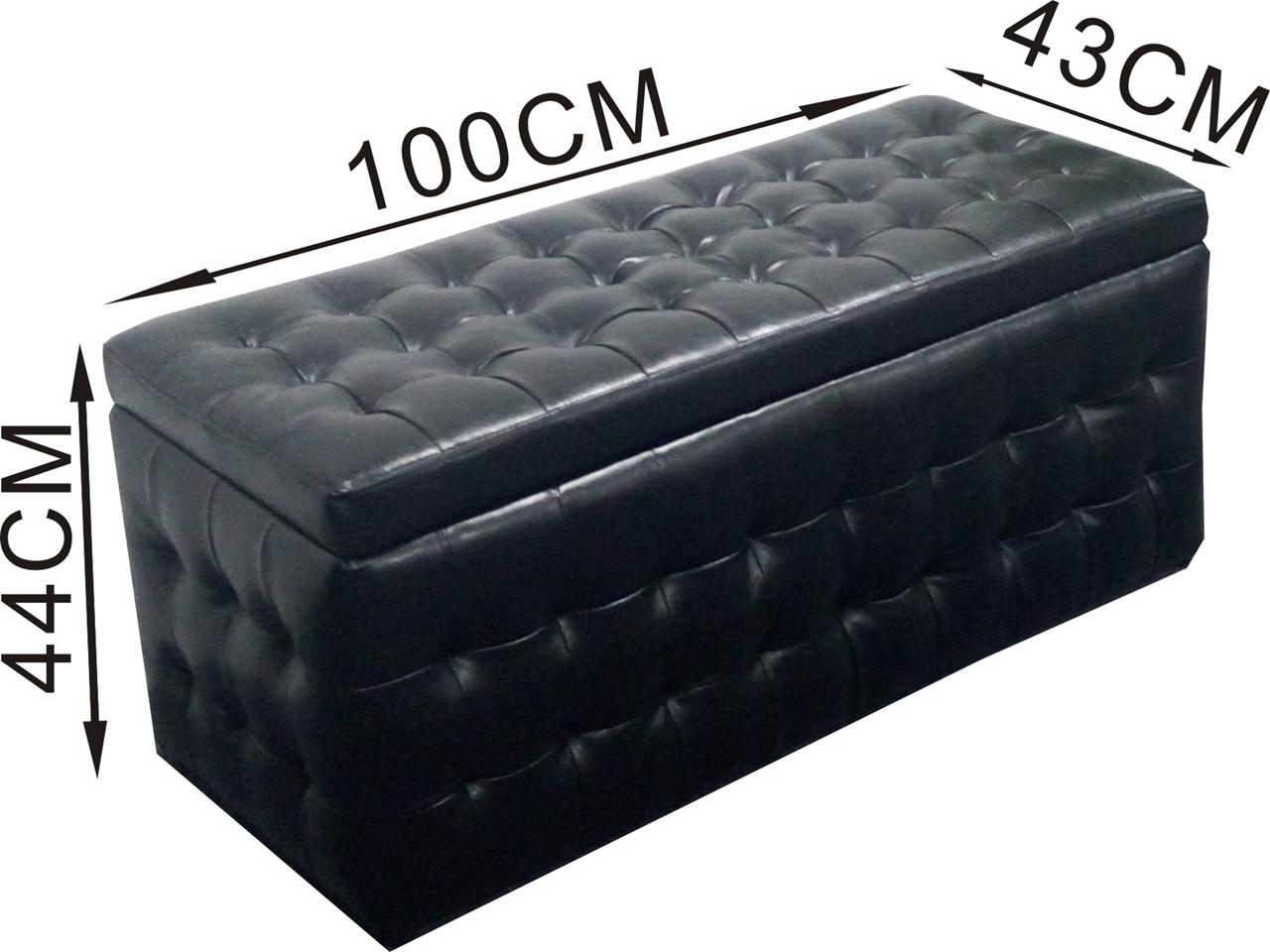 Buy leather storage stooloffice chairergonomic chairtoy for Storage ottoman singapore