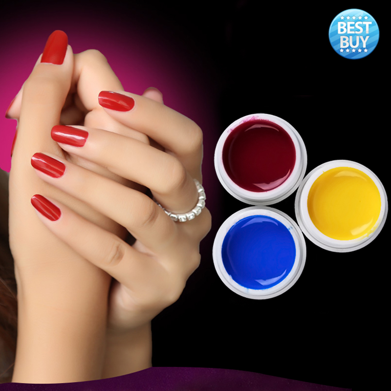 Qoo10.sg - Every need. Every want. Every day. -. Source · 100%brand New 36 Pot Pure Color Decor Soak Off Uv Gel Nail Art Tips