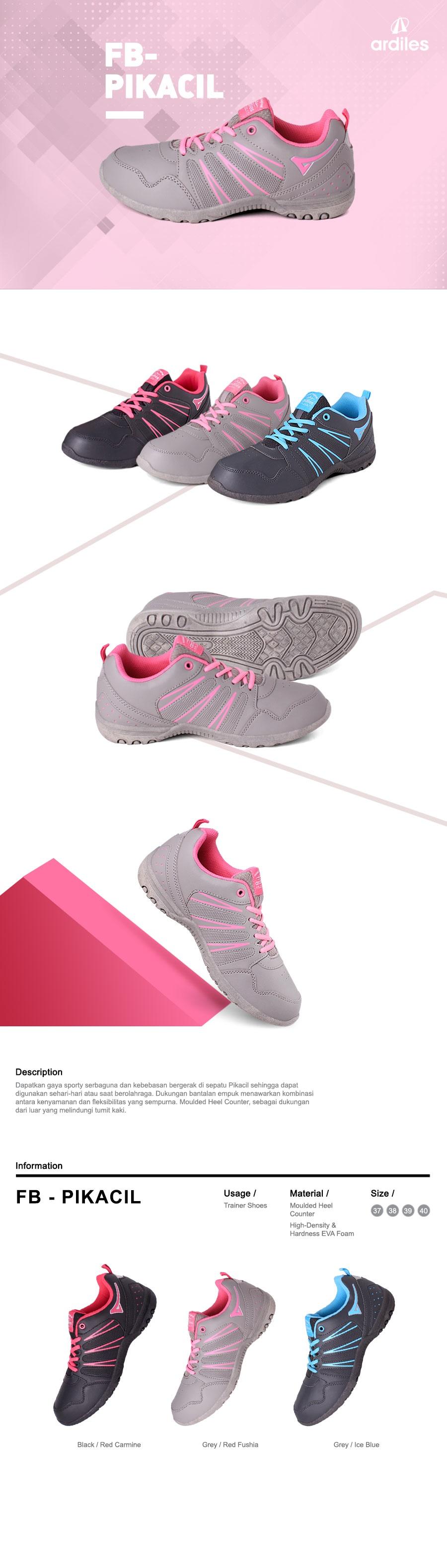 Ardiles Women Marimar Running Shoes Abu Hijau Turqouise Daftar Men Articuno Grey Black Clearance Sale Update Style And Kids