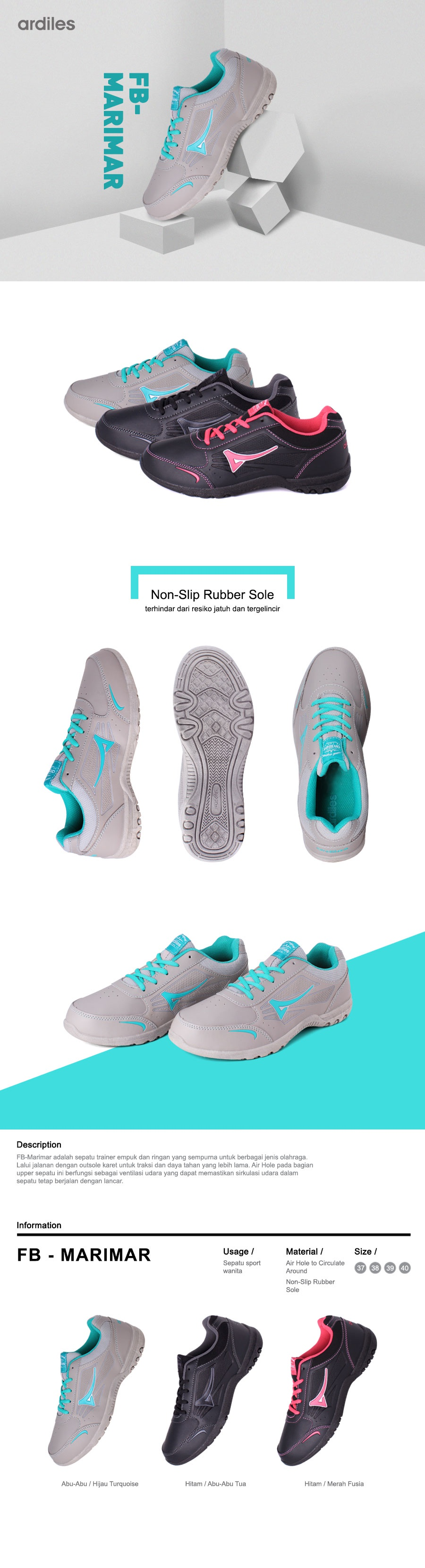 Every Need Want Day Ardiles Women Glamour Sepatu Slip On Abu Muda 40 Clearance Sale Update Style Shoes Men And Kids Sport