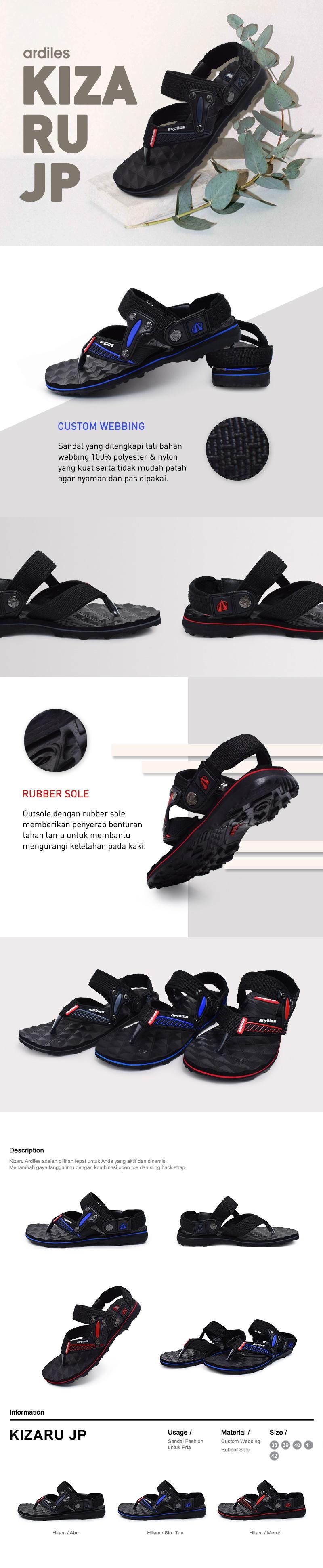 Buy Ardiles Best Seller Unisex Sandal And Slippers Deals For Only Women Candelle Slip On Merah 39 Dual 05