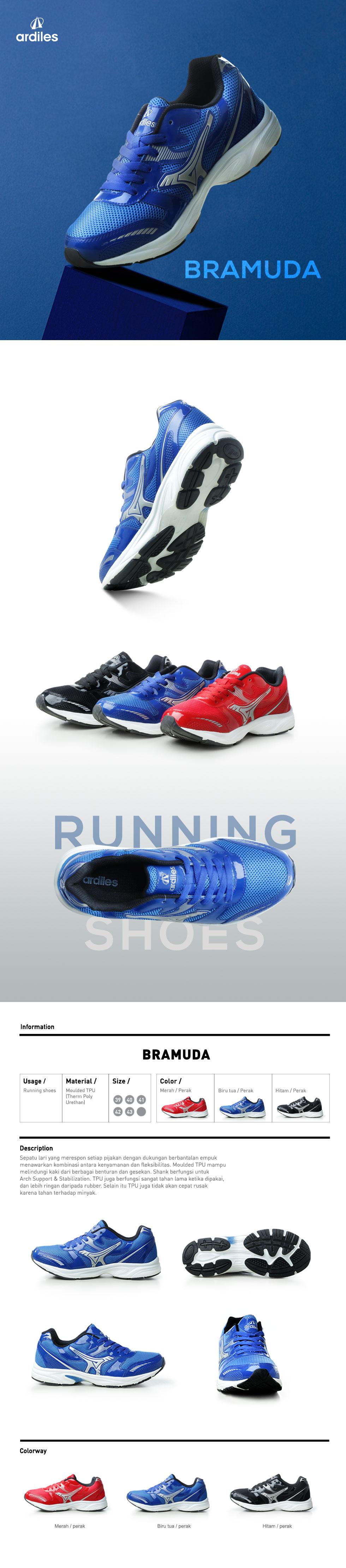 Buy Clearance Sale Ardiles Shoes Men Women And Kids Sepatu Estelle Running Hitam 39 Opsi