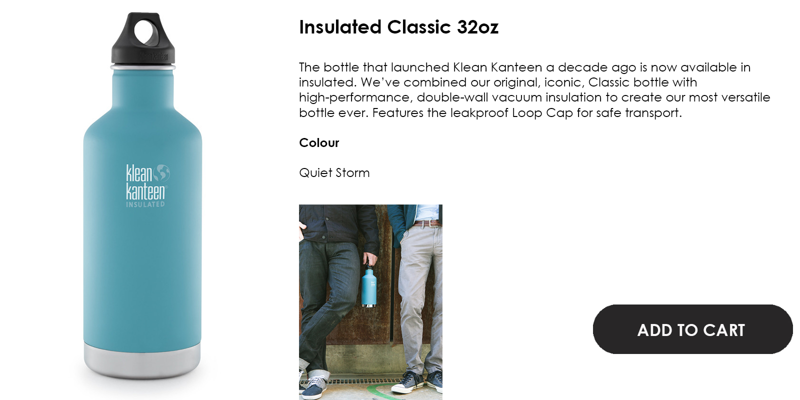 aabd3aa0ed 32oz Classic Insulated (Quiet Storm). $73.00. Qty: Product Details. image  image