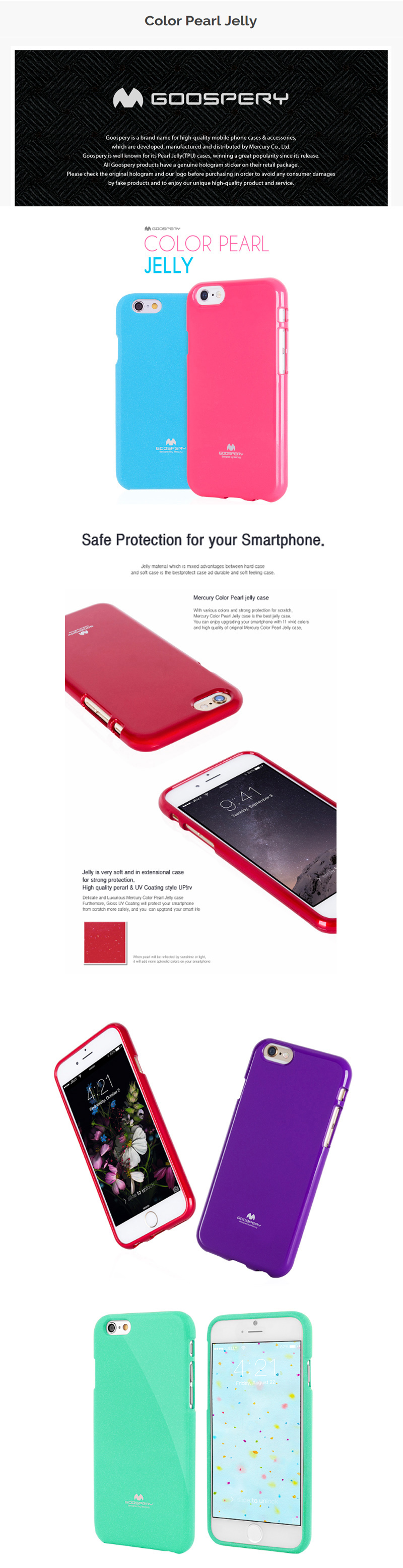 Buy Gadgetor Sg Sellercases For Samsung Deals Only S25 Goospery Note 9 N960 Pearl Jelly Case I 2pcs Tempered Glass