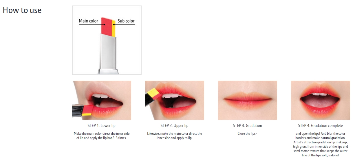 Buy Laneige Two Tone Lip Bar Korean Makeup Cosmetics