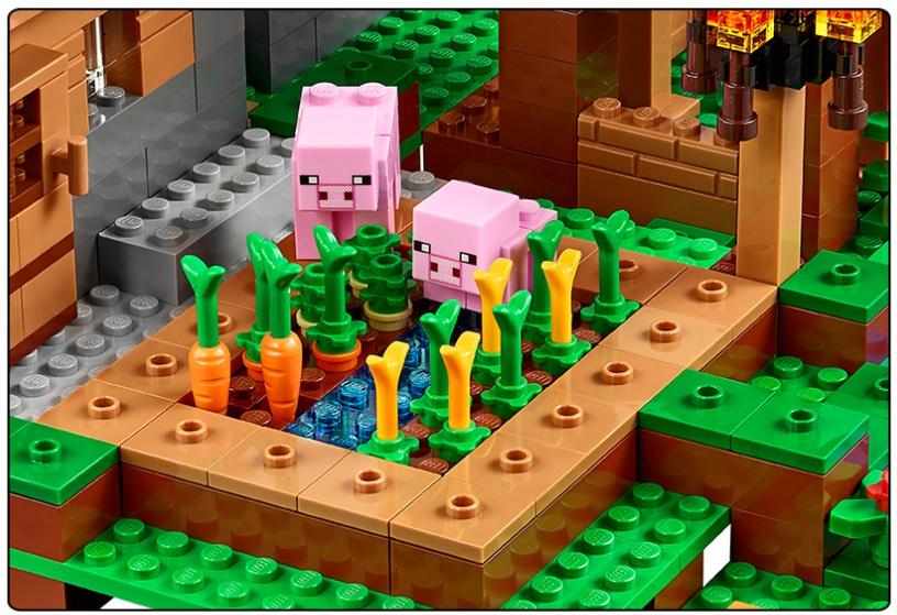 LEGO MINECRAFT PIG FROM SET 21128