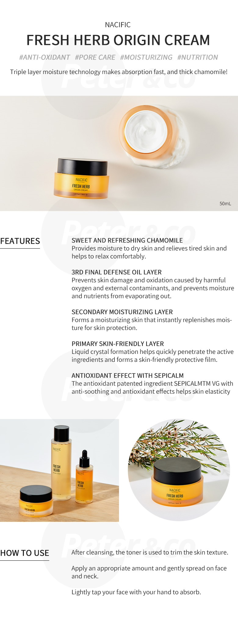 Every Need Want Day Nacific Natural Pacific Fresh Herb Origin Serum 50ml Renewal Essence Toner Cream Cleansing Foam Oil
