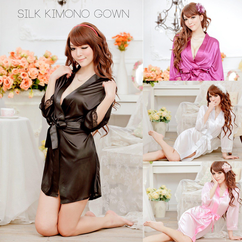 Секс в шелковый платье 14 фотография