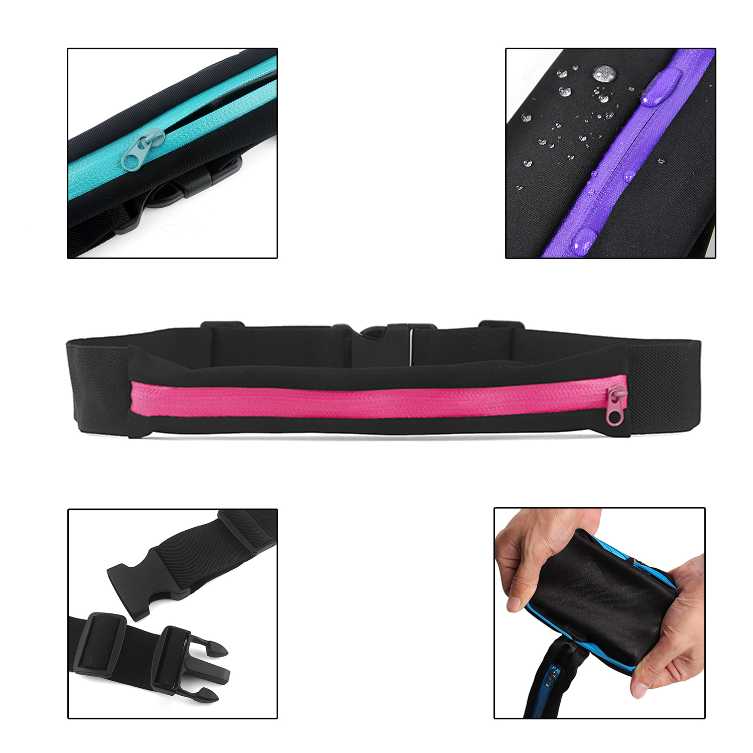 sm Enema Description: This Running Waist Bag is perfect for outdoor activities. Nice ornament and good organized assistant for your daily use.