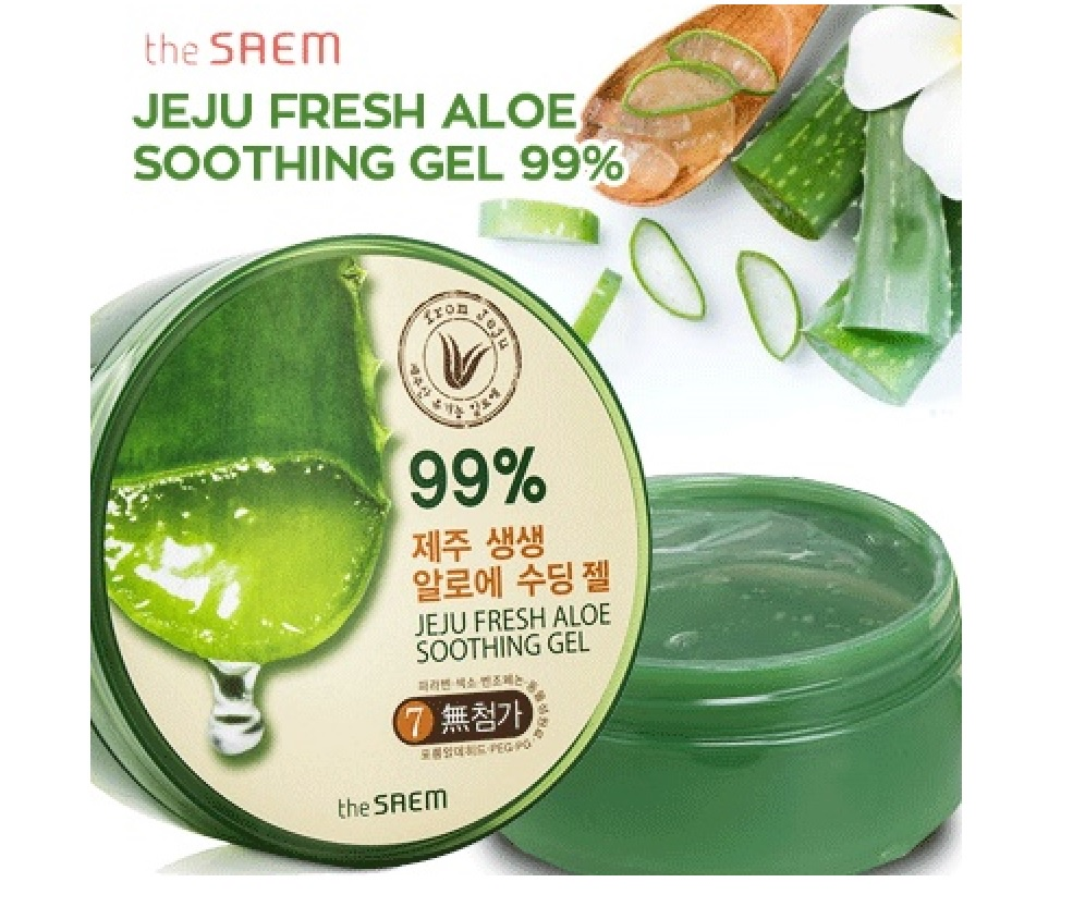 Every Need Want Day The Saem Jeju Fresh Aloe Soothing Gel 99