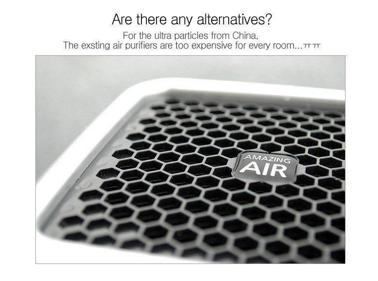 Amazing Air Ultra Fine Dust Personal Air Purifier Pm1 0