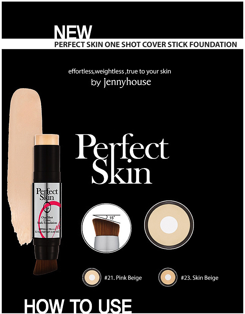 Buy Jennyhouse Perfect Skin One Shot Cover Stick