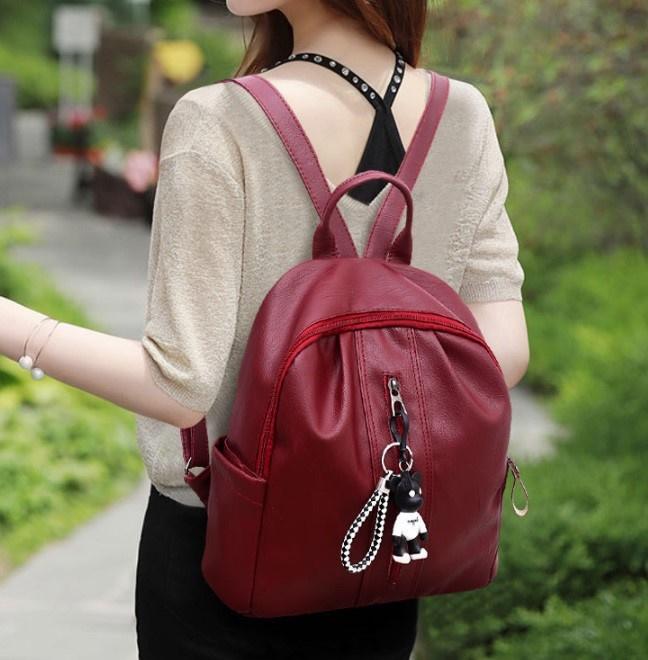 NEW MODEL - Korean Women Backpack   Tas Punggung Wanita - 2 STYLE - Import  Quality 78d1de134f
