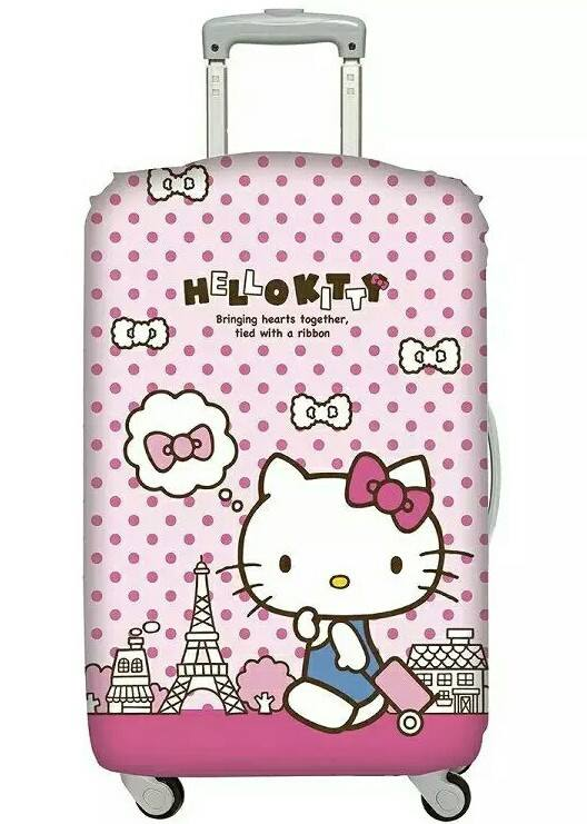 9bc32d64a929 Buy   Hello Kitty Elastic Luggage Cover Deals for only S 39.9 ...