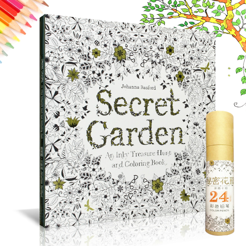 Buy Up To 10 1 Shipping FeeSecret Garden Colouring Book