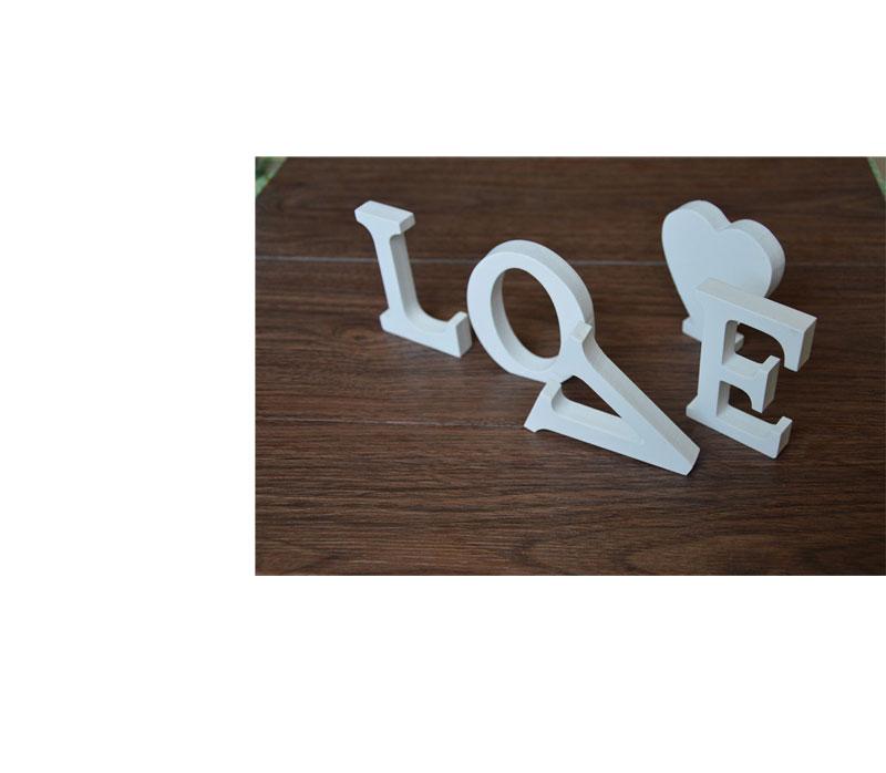 Buy 3d wooden decoration letters 3d wall decorations 8cm for Decoration 9 letters