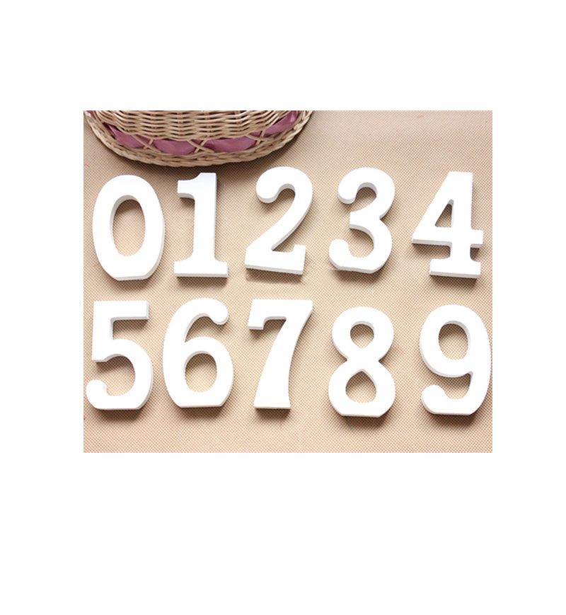 Buy 3D Wooden Decoration Letters3D Wall Decorations 8cm
