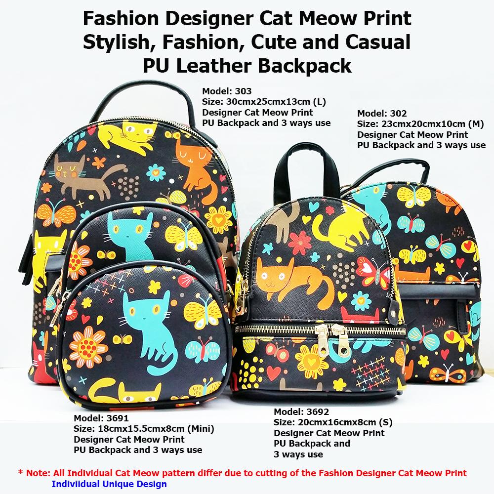 322ee9d6ac70 Korean Japan unisex Bag Girls Fashion backpack ☆ 💜 Girls Fashion Backpack    3 way ☆ Creative Design