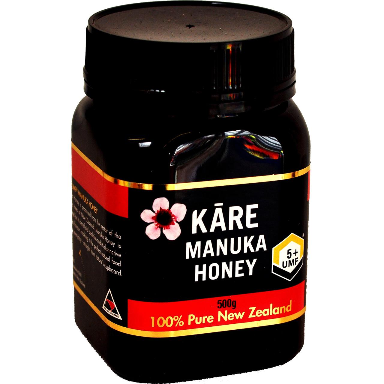 Chemical analysis of manuka honey