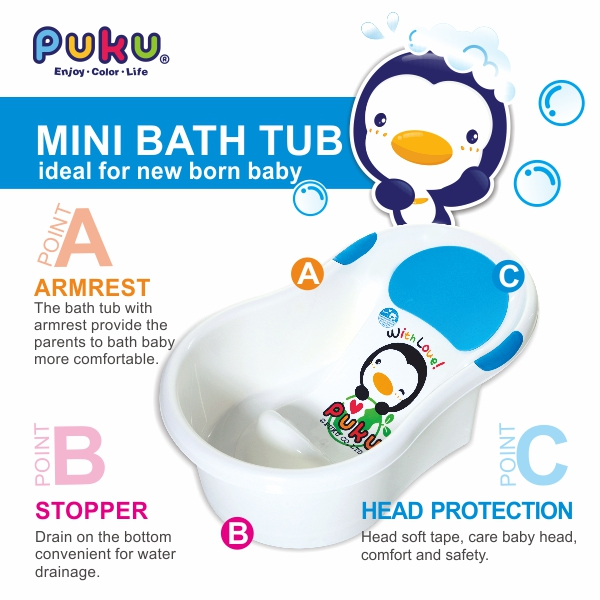 buy puku baby bath tub largest size deals for only s 69 instead of s 69. Black Bedroom Furniture Sets. Home Design Ideas