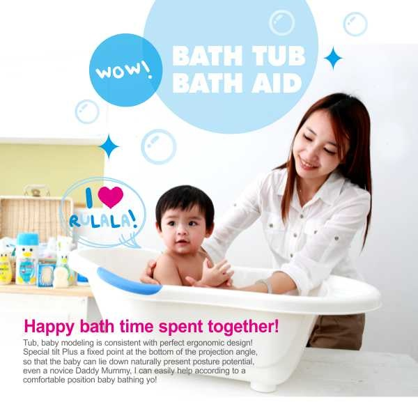 PUKU Large Baby Bath Tub with Stand | Baby Gallery