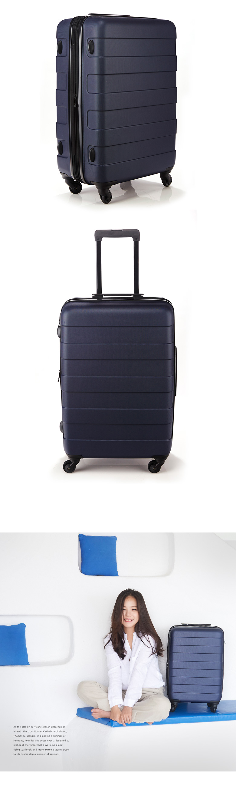Buy Le Comma Korea Best Selling Suitcase Luggage Trolley