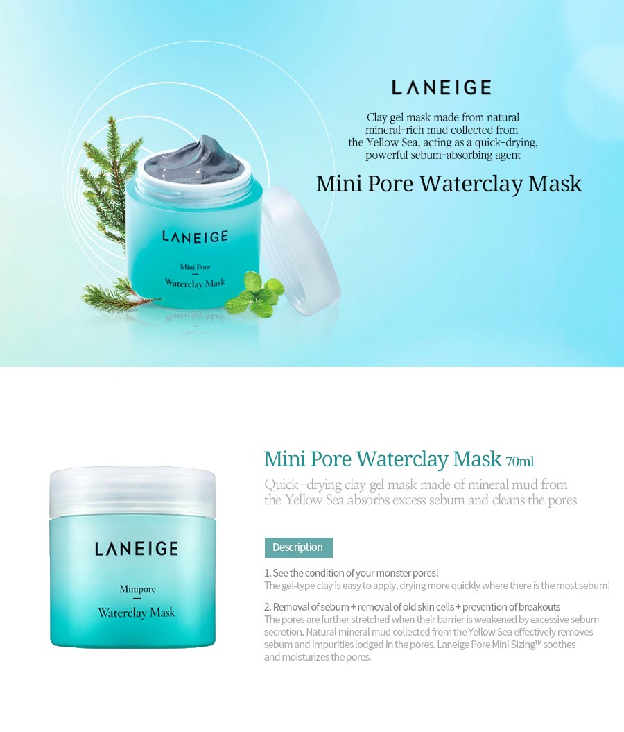 Buy Laneige Super Sale Up To 50 Sleeping Mask Water Bank White Wateclay Double Clearing Cleansing Foam