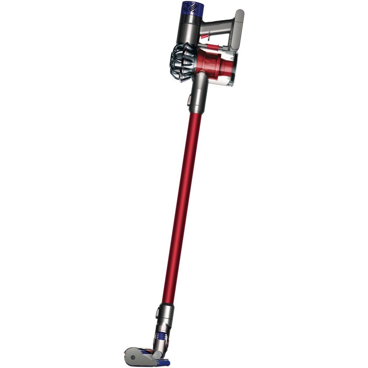 buy dyson v6 fluffy cordless vacuum cleaner and limited edition red v6 fluffy 2 years local. Black Bedroom Furniture Sets. Home Design Ideas