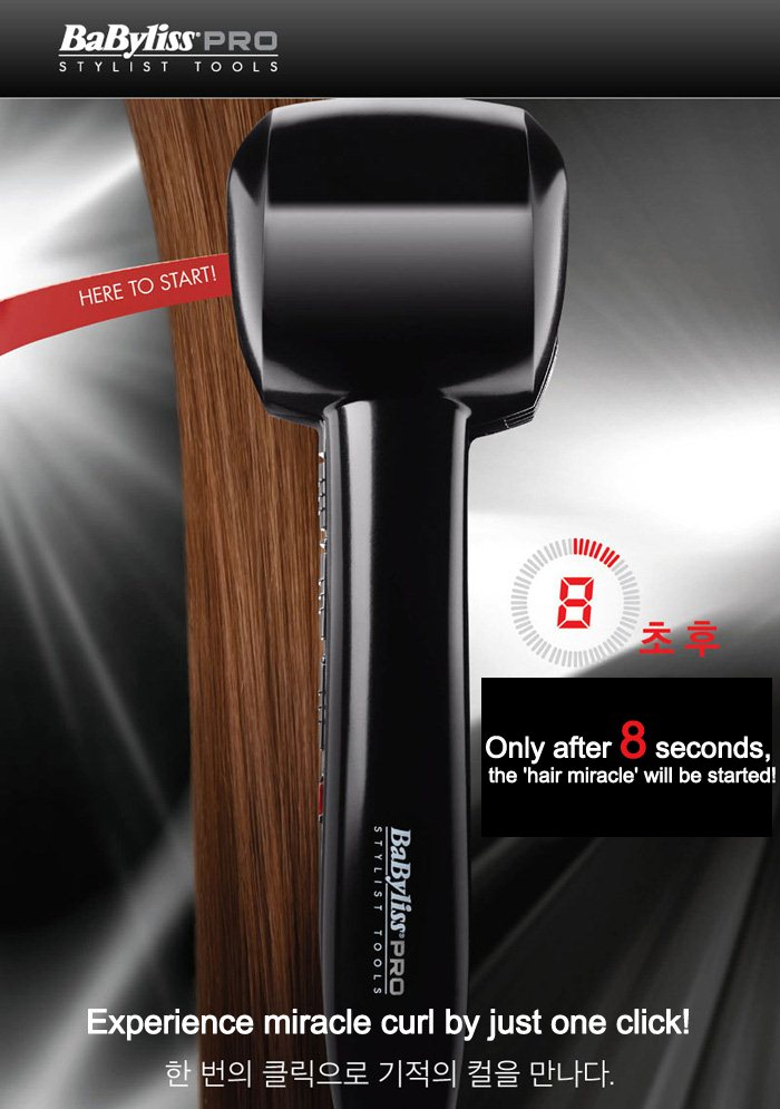 Buy Babyliss Pro Perfect Curl Miracurl Curling Curler Iron