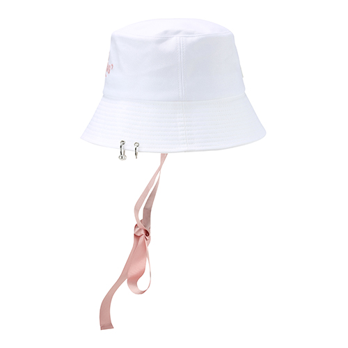 c8442fef692ca MLB   BUCKET HAT   Ribbon Tape Hat   Piercing   Korean Fashion