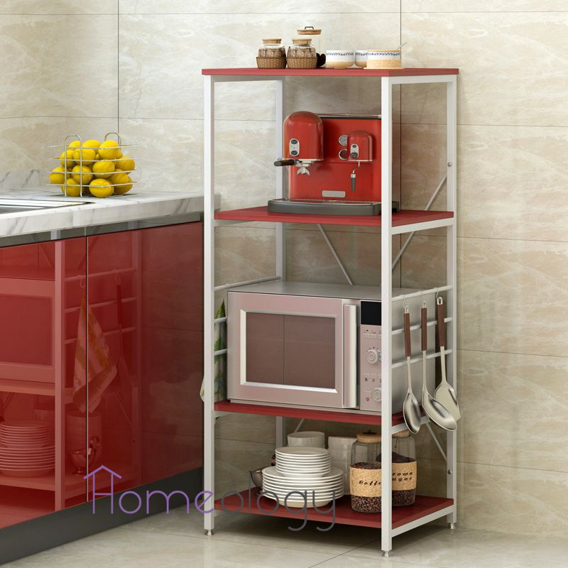 buy kitchen rack storage organizer holder adjustable shelf
