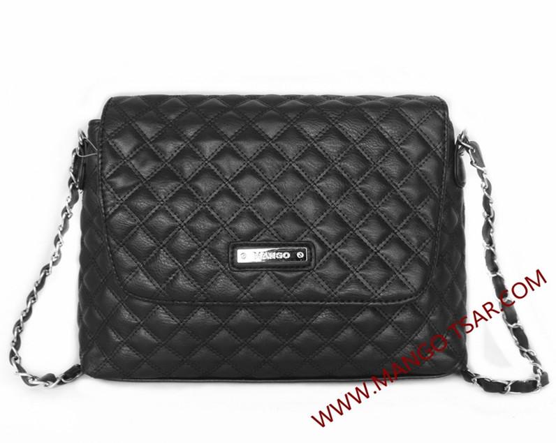 Buy MANGO double compartment cross body bag   tas bahu   tas ... 8d8c7ee126