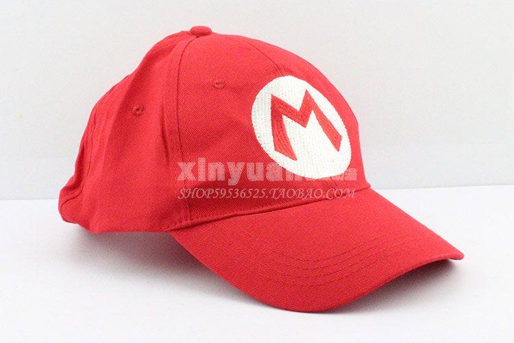 c26623995963 5 Color Super Mario Bros Brothers Red green purple yellow luigi waluigi  wario hat cap Free Size W026