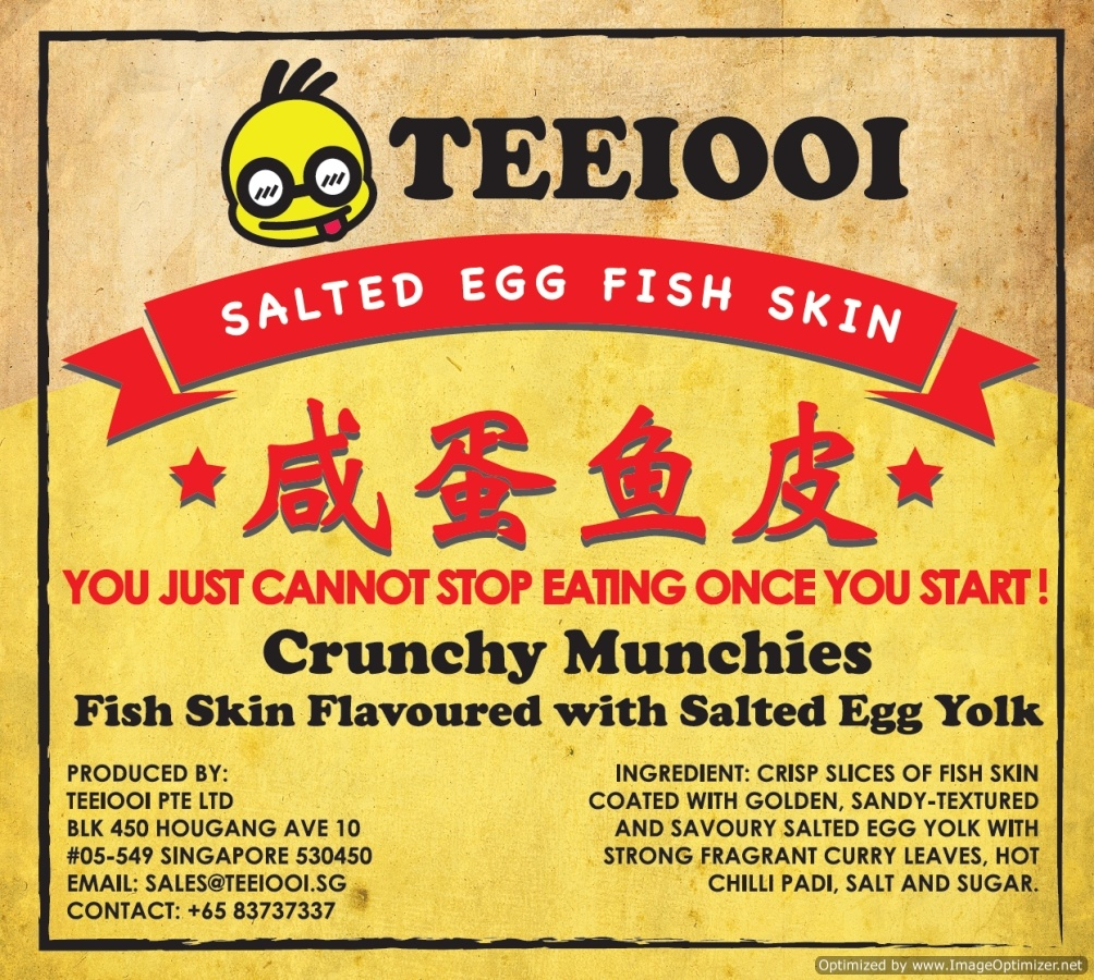 Buy local delight teeiooi salted egg crispy fish skin for Salted egg fish skin