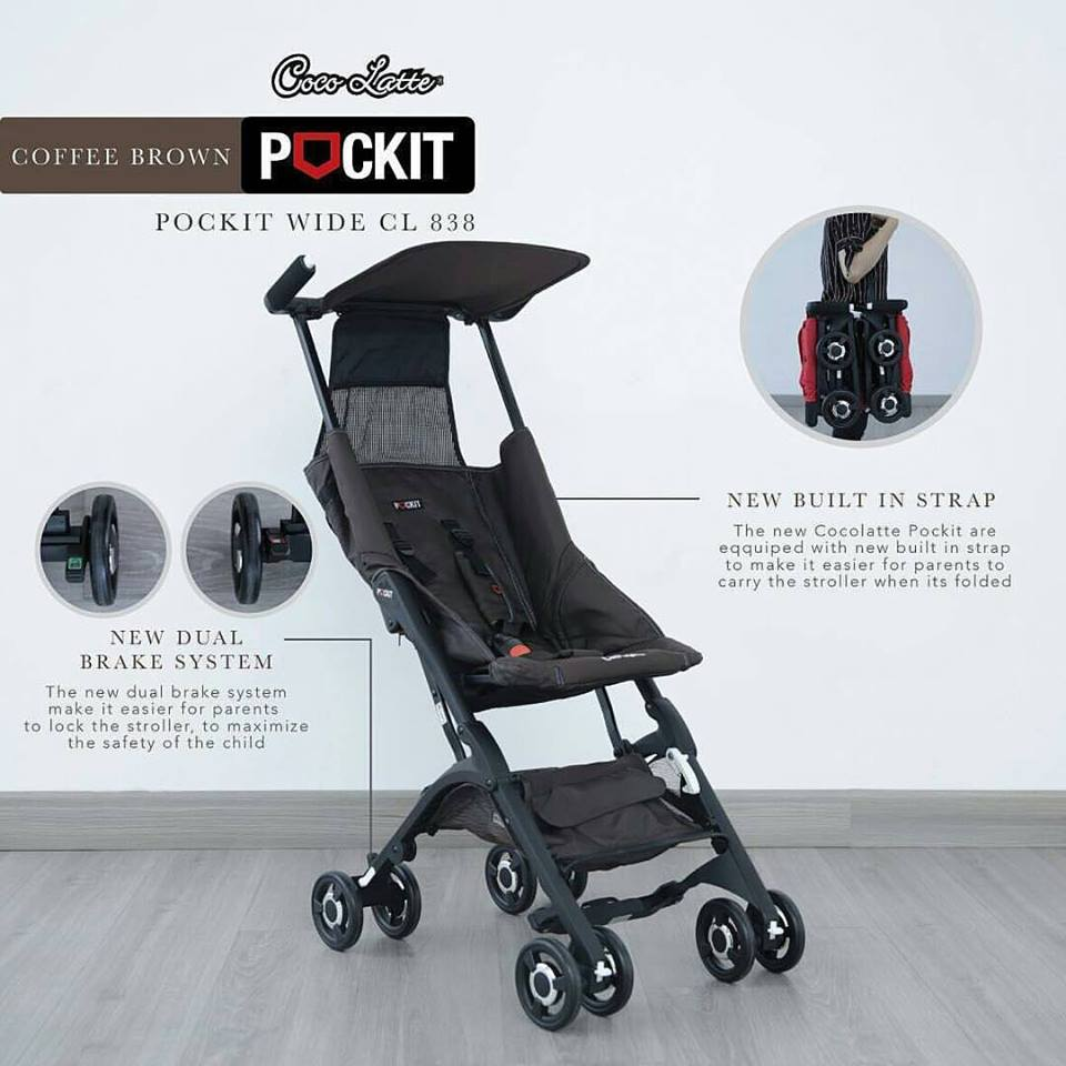 Every Need Want Day Stroller Cocolatte Isport 9m Pockit Wide With New Feature Doesnt Have Bag