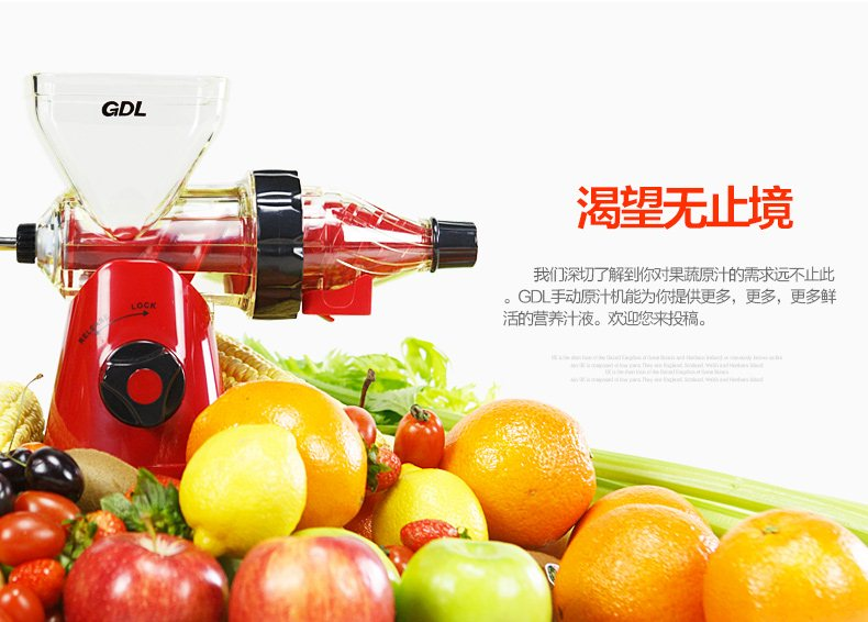 Gdl Manual Slow Juicer : Buy **BEST PRICE**NEW GDL Manual Slow Fruit Juicer Mini Baby Simple Fruit Juicer~~Perfect Gifts ...