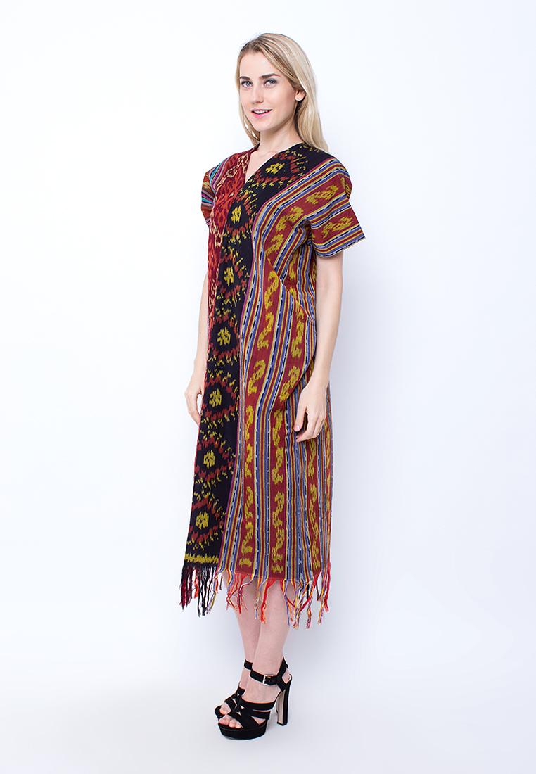 Design Long Dress Batik