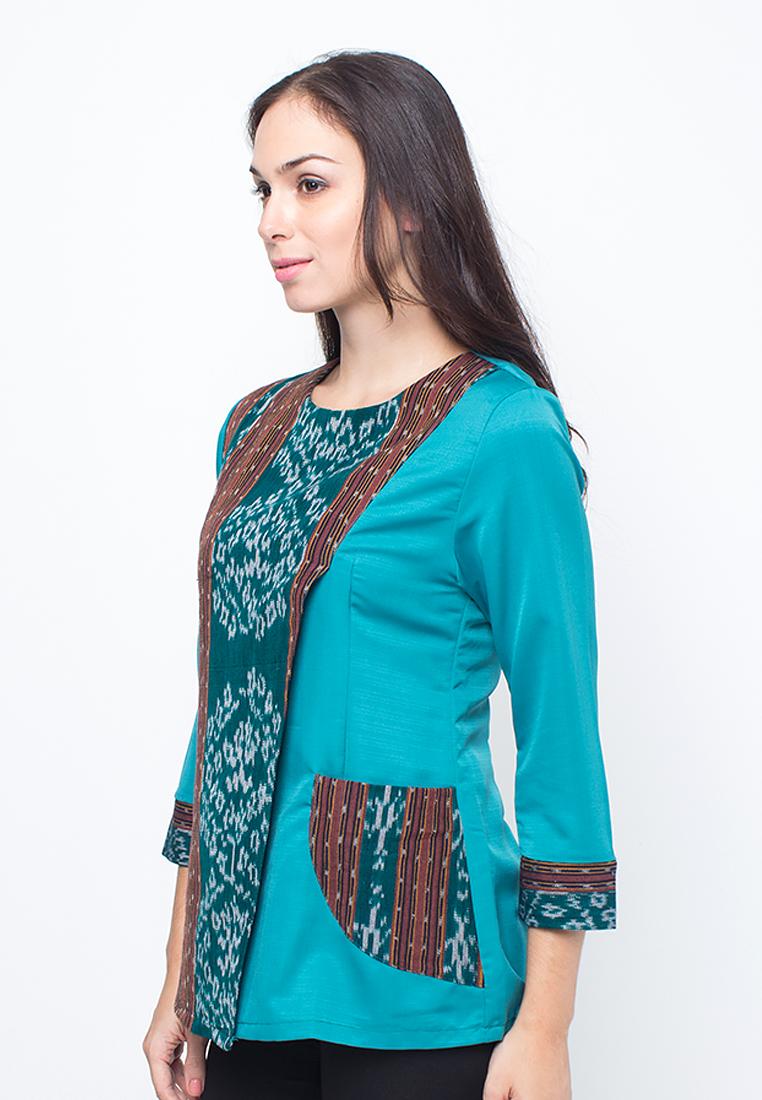 Baju Kebaya Kombinasi Batik 2015 Etoko Co 49 Model Baju