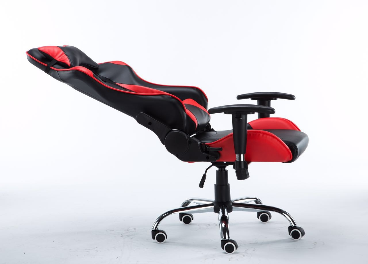 4D Ergonomic Leather High Back Gaming Chair Racing Style PC/Computer Chair | Lazada Singapore