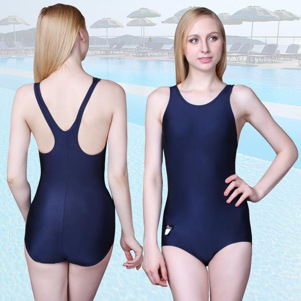 Buy Singapore Seller One Piece Swimwear Women Ladies Swimsuit Swimming Suit Korean Chic Style