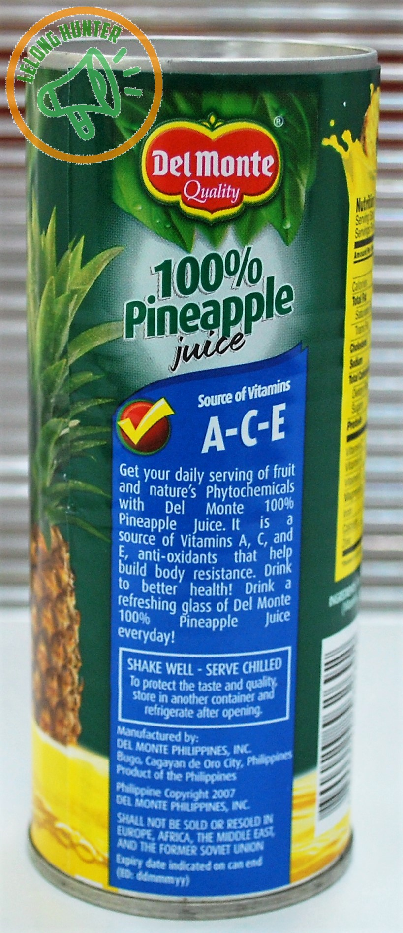 Every Need Want Day Del Monte Sweet Chilli Sauce 340 Ml In 240 The Pineapple Juice Can Yield 133 Kcal Of Energy 02 G Protein 342 Carbohydrate 93 Mg Sodium