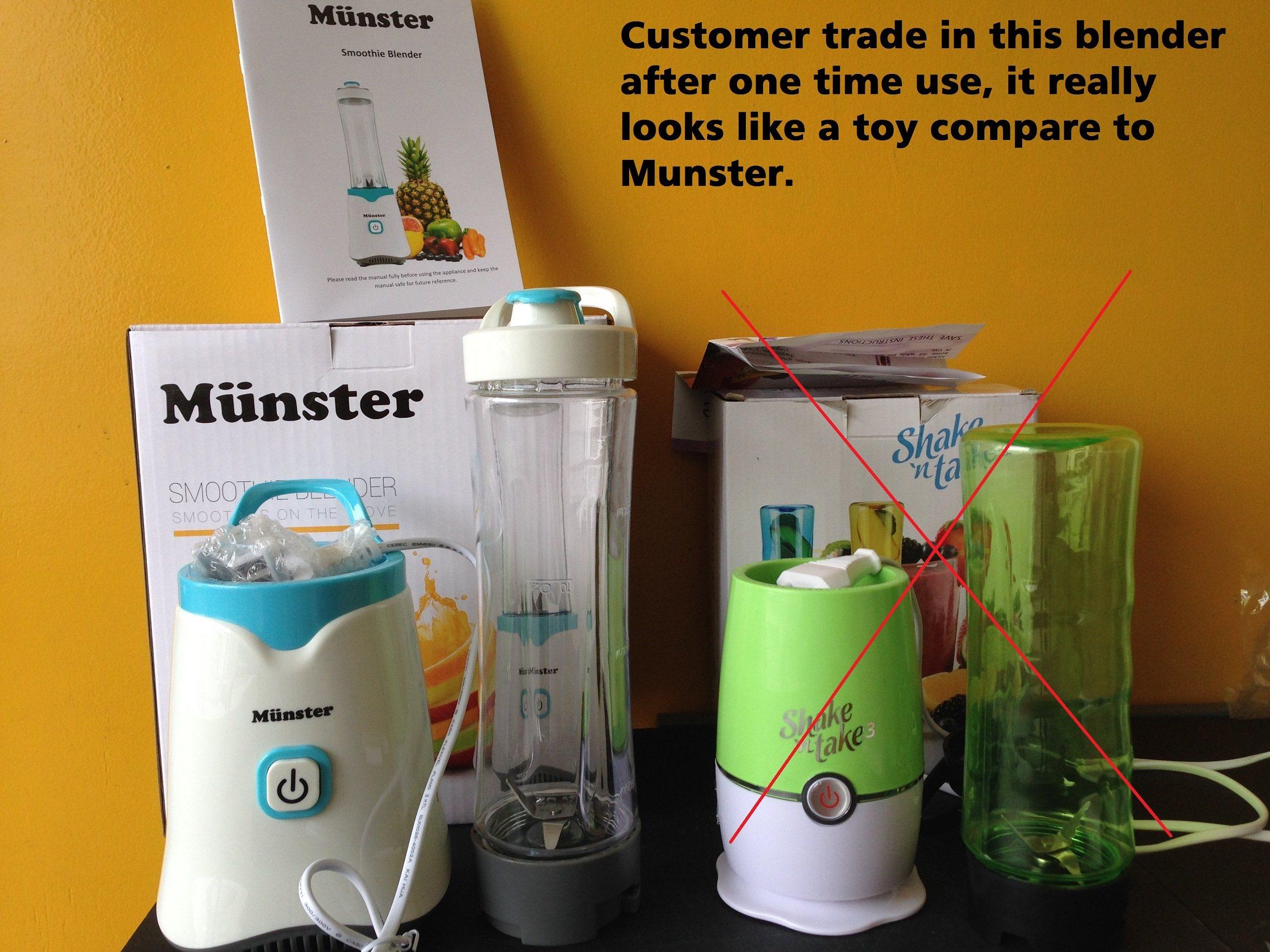 germany design m nster smoothie blender juicer mixer smoothies maker personal blender. Black Bedroom Furniture Sets. Home Design Ideas