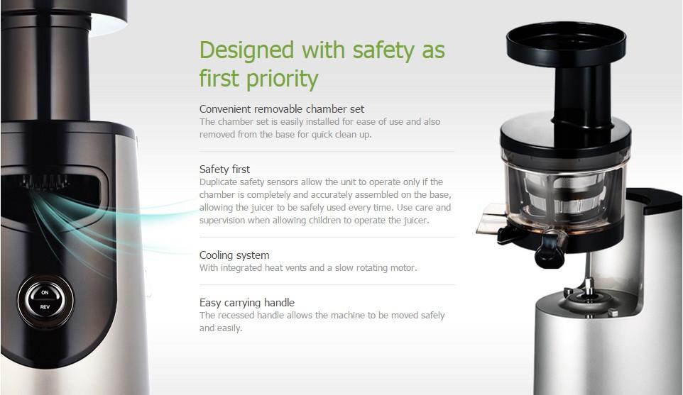 Buy ?Korean Hurom? Cold Press HU-500DG HH-SBF11 New Slow Citrus Juicer Extractor Machine Juice ...