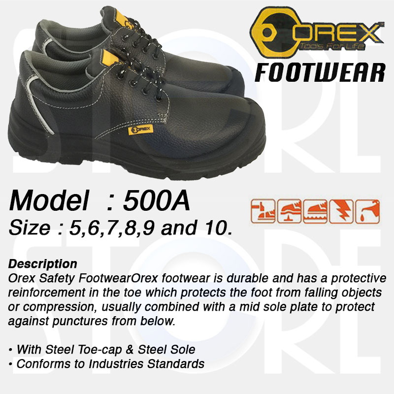 buy orex safety shoes 500a deals for only s 29 9 instead