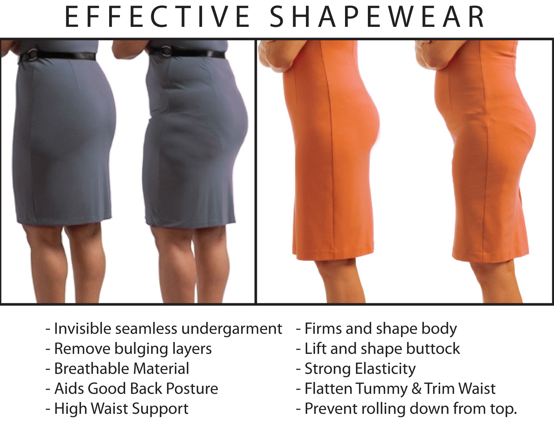 d9a8b96cb39cb ◣DIET SLIM BODYSHAPER◥ Instant Flat Tummy No Bulging Sides Lift Butt Body  Shaper Underwear Plus Size Shapewear