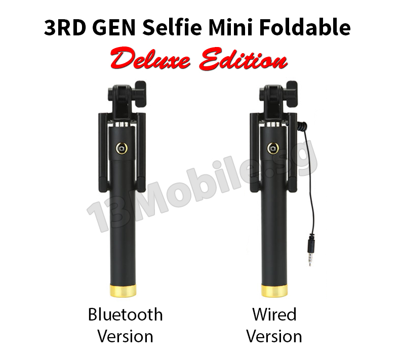 buy guaranteed lowest price 3rd gen selfie mini deluxe edition bluetooth wired foldable. Black Bedroom Furniture Sets. Home Design Ideas